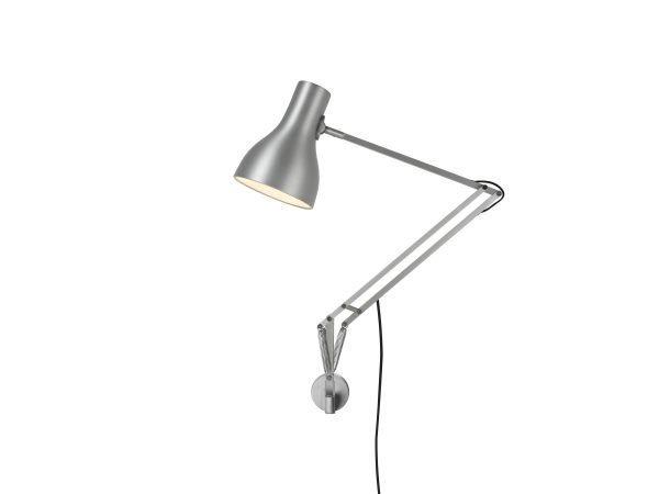 Anglepoise type 75 wandlamp Brushed Aluminium 2