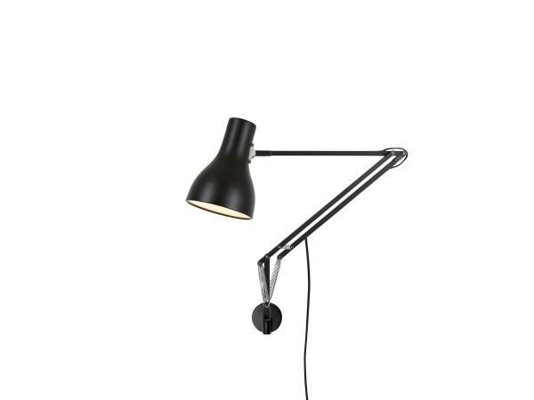 Anglepoise type 75 wandlamp Jet Black 1