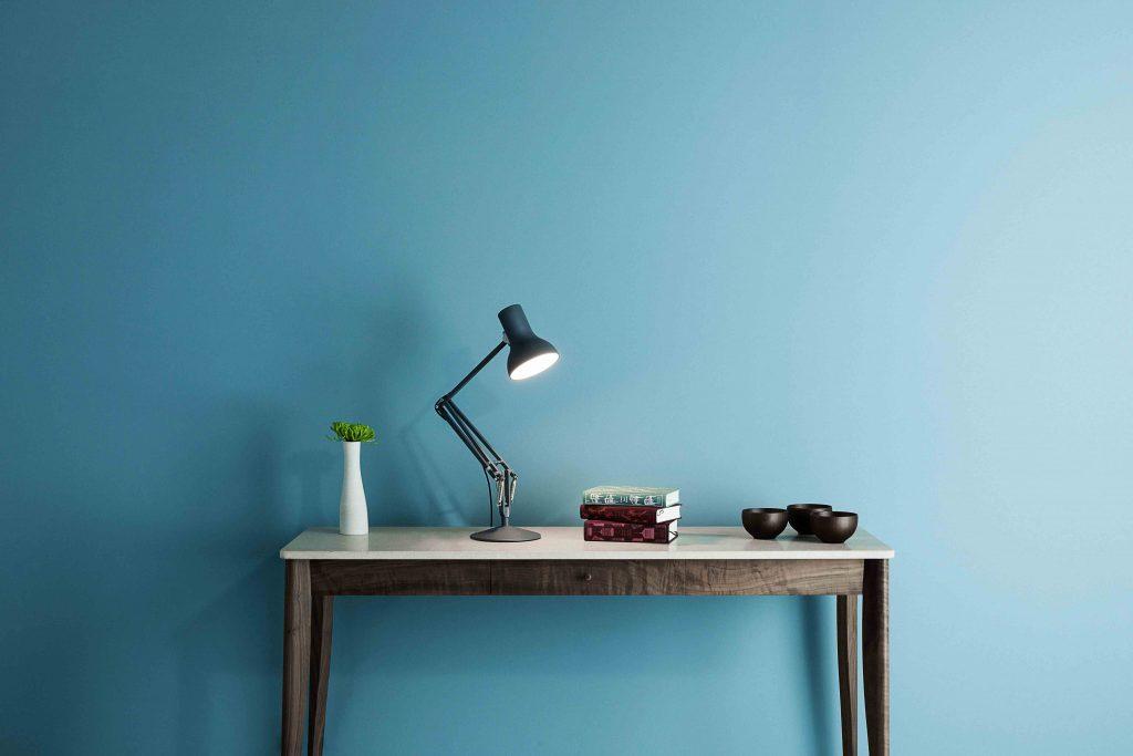 Anglepoise type 75 Mini Bureau Lamp - Slate Grey