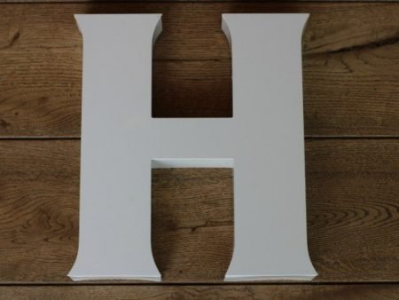 backlit letterlamp H 1