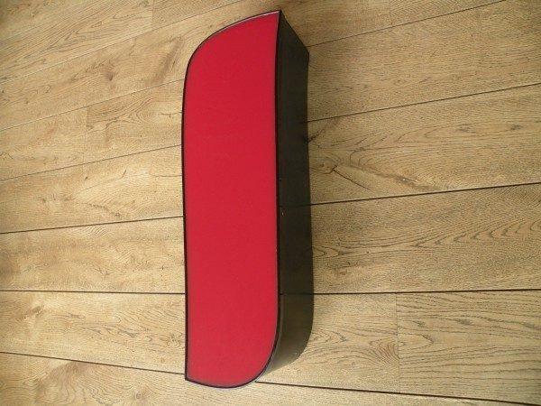 rood zwart letterlamp I 2