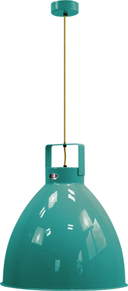 Jielde-Augustin-540-Hanglamp-Water-Blauw-RAL-5021