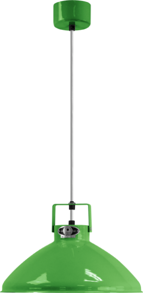 Jielde-Beaumont-B240-Hanglamp-Appel-Groen-RAL-6018