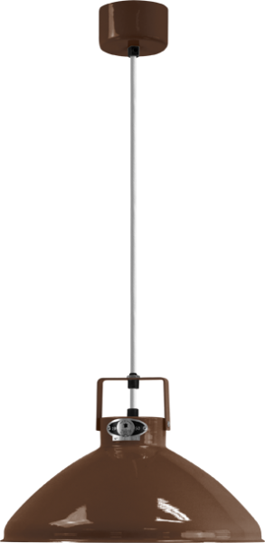 Jielde-Beaumont-B240-Hanglamp-Chocolade-RAL-8017