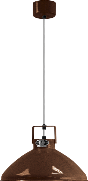 Jielde-Beaumont-B240-Hanglamp-Koper-Hamerslag