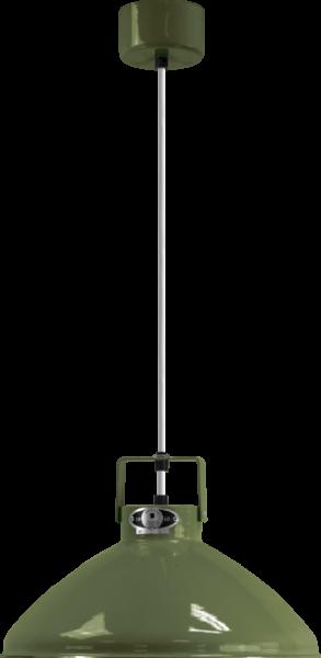 Jielde-Beaumont-B240-Hanglamp-Olijf-Groen-RAL-6003