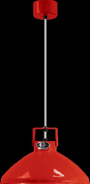 Jielde-Beaumont-B240-Hanglamp-Rood-RAL-3020