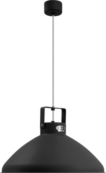 Jielde-Beaumont-B360-Hanglamp-Zwart-Hamerslag