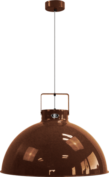 Jielde-Dante-675-Hanglamp-Koper-Hamerslag