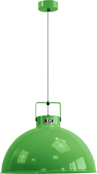 Jielde-Dante-D450-Hanglamp-Appel-Groen-RAL-6018