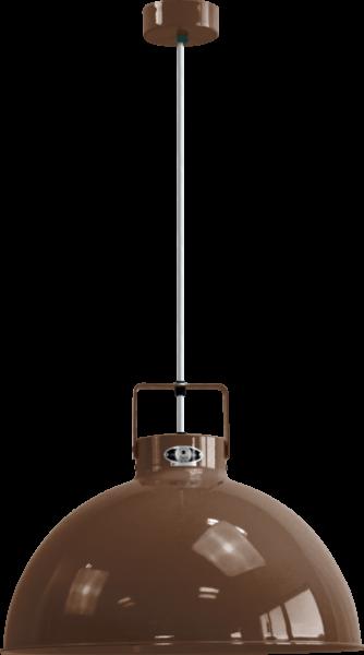 Jielde-Dante-D450-Hanglamp-Chocolade-RAL-8017