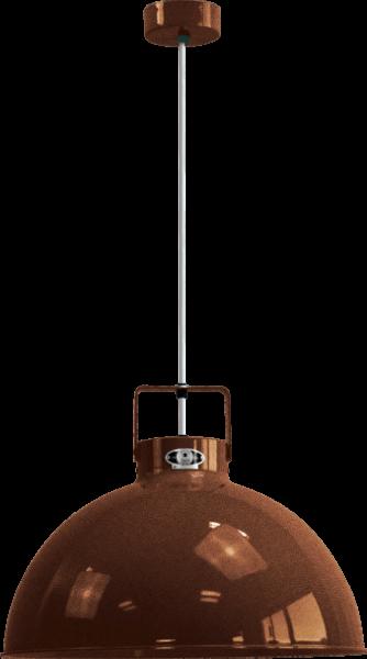 Jielde-Dante-D450-Hanglamp-Koper-Hamerslag