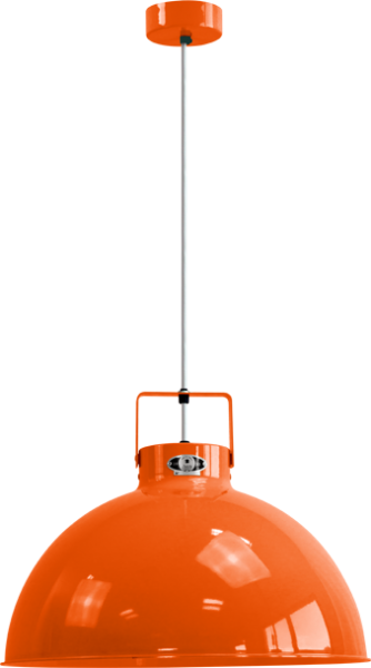Jielde-Dante-D450-Hanglamp-Oranje-RAL-2004