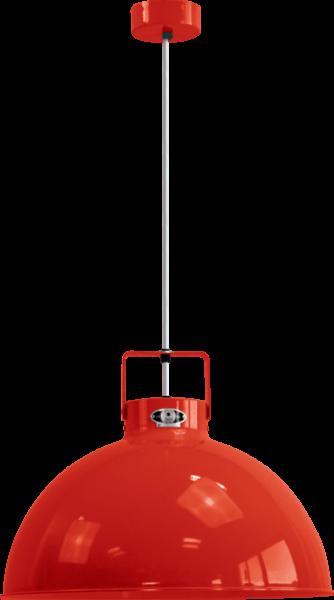 Jielde-Dante-D450-Hanglamp-Rood-RAL-3020