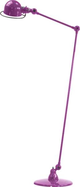 Jielde-Loft-1240-vloerlamp-Paars-Fuschia-RAL-4008