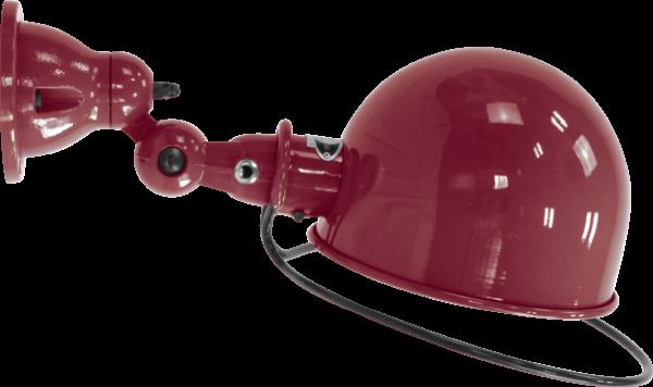 Jielde-Loft-D1020-muurlamp-plafondlamp-Bourgondisch-RAL-3005