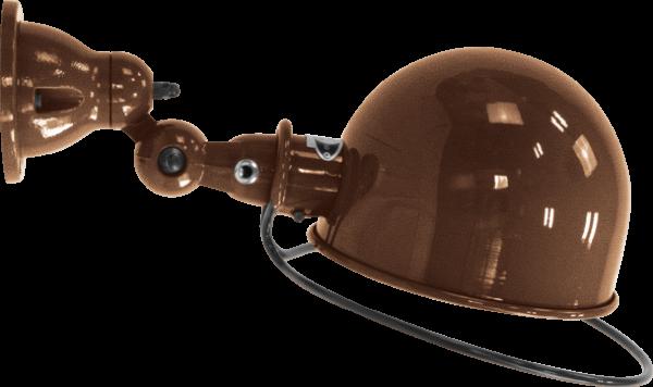 Jielde-Loft-D1020-muurlamp-plafondlamp-Koper-Hamerslag
