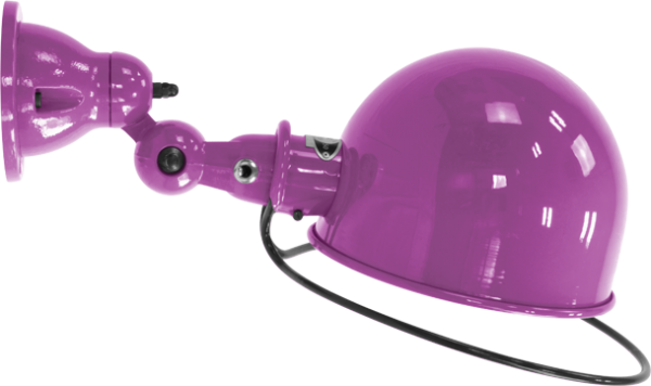 Jielde-Loft-D1020-muurlamp-plafondlamp-Paars-Fuschia-RAL-4008