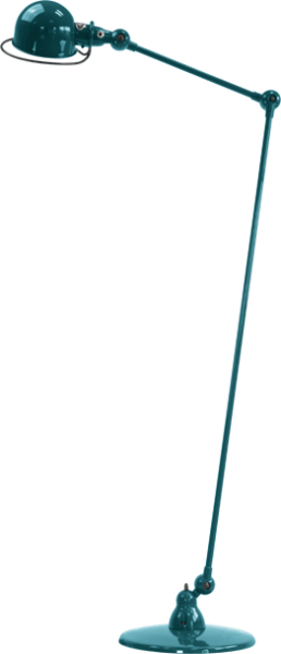 Jielde-Loft-D1240-vloerlamp-Oceaan-Blauw-RAL-5020