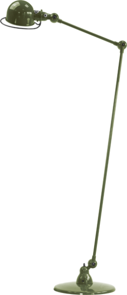 Jielde-Loft-D1240-vloerlamp-Olijf-Groen-RAL-6003
