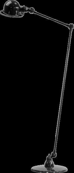 Jielde-Loft-D1240-vloerlamp-Zwart-Hamerslag