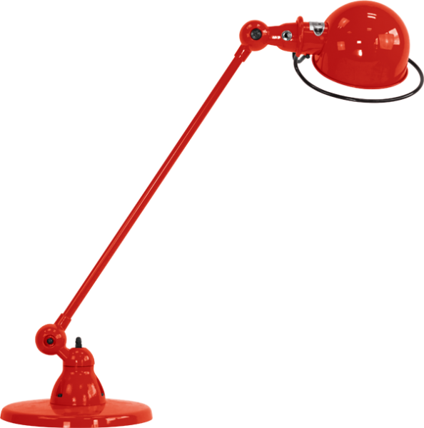 Jielde-Loft-D6000-bureaulamp-Rood-RAL-3020