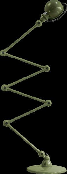 Jielde-Loft-D7406-vloerlamp-Olijf-Groen-RAL-6003