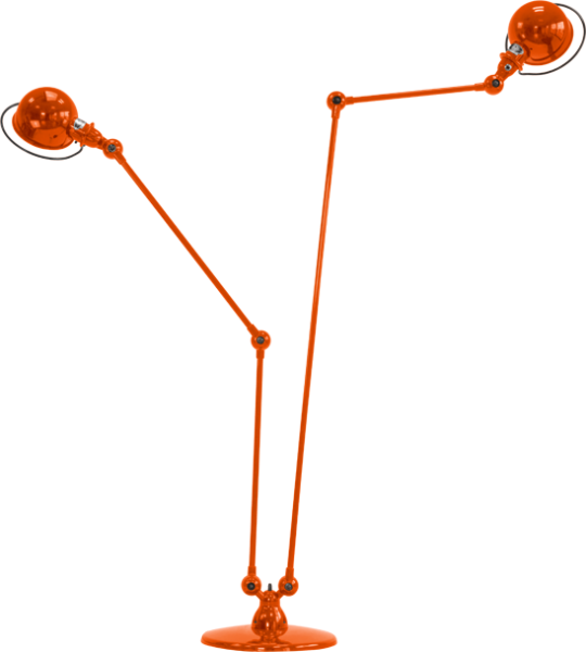 Jielde-Loft-D7460-vloerlamp-Oranje-RAL-2004