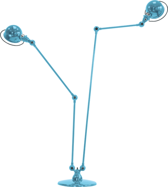 Jielde-Loft-D7460-vloerlamp-Pastel-Blauw-RAL-5024