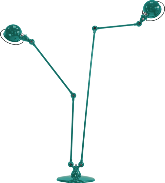 Jielde-Loft-D7460-vloerlamp-Water-Blauw-RAL-5021