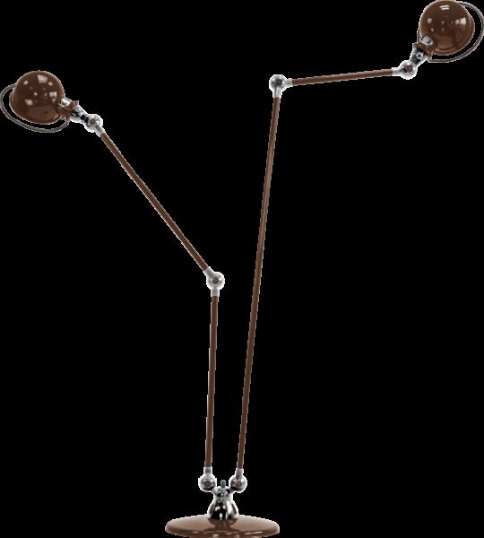 Jielde-Loft-D7460-vloerlamp-duo-Chocolade-RAL-8017