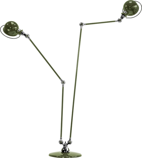 Jielde-Loft-D7460-vloerlamp-duo-Olijf-Groen-RAL-6003