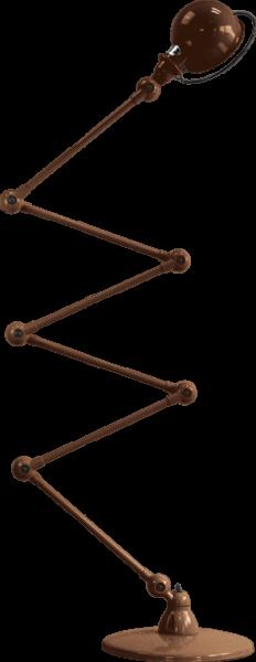 Jielde-Loft-D9406-vloerlamp-Koper-Hamerslag