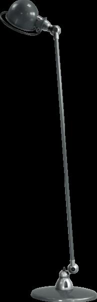 Jielde-Loft-D1200-vloerlamp-Grijs-RAL-7026-Hoogglans-Gepolijst