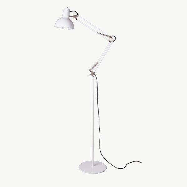 Midgard staande lamp BINK wit