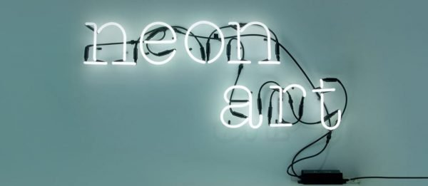 seletti letter neon BINKlampen art