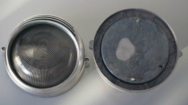 Bunkerlamp rond rusland 2 stuks voor en achterkant