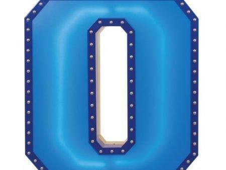 Delightfull marquee letter O