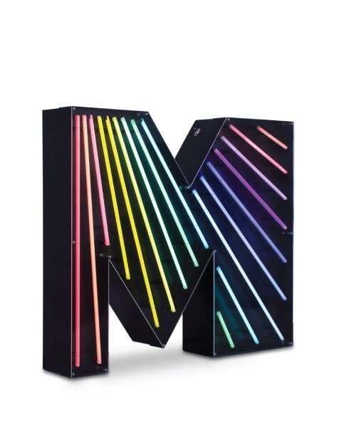 Delightfull letterlamp M