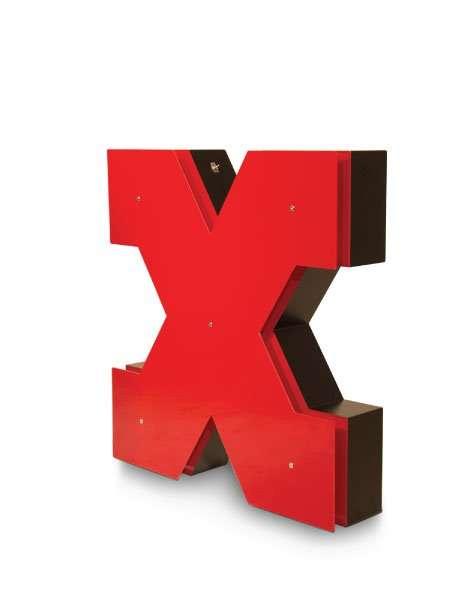 Delightfull letterlamp X 1
