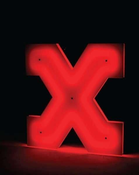 Delightfull letterlamp X 2