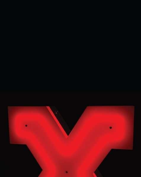 Delightfull letterlamp X