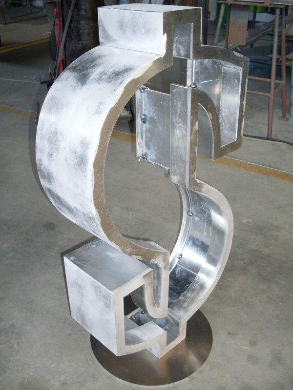 Dollar sign in production 2