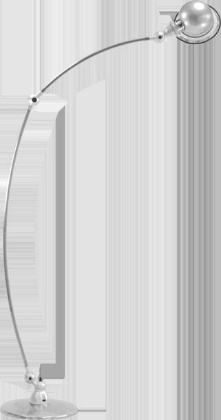 Jielde Loft C1260 BINK lampen Gris Argent Ral 9006