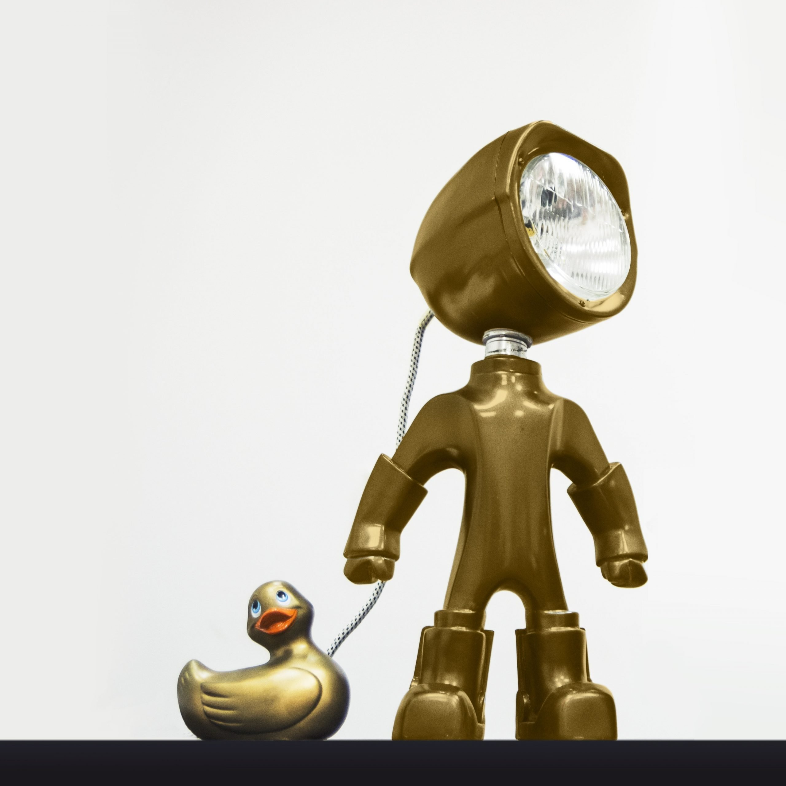The Lampster Gold BINK lampen