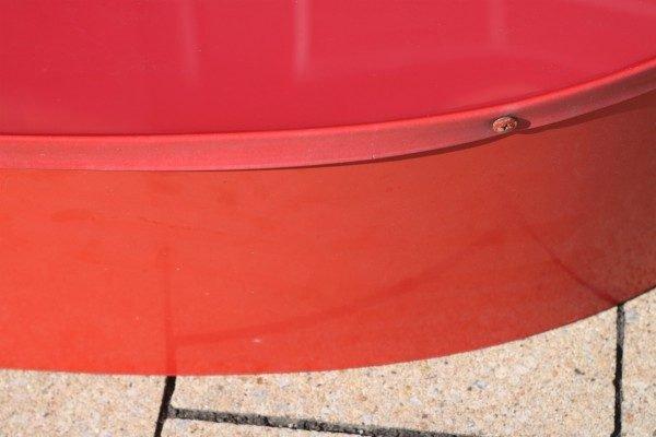 rode rand letter sign met verlichting