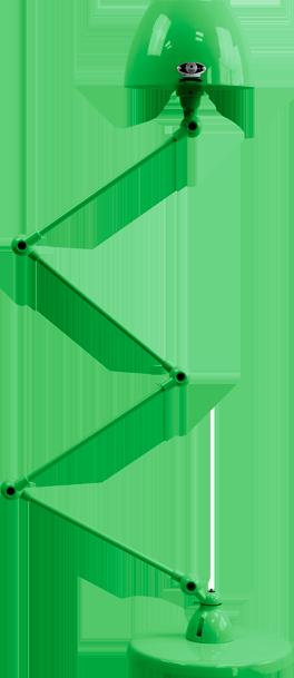 jielde-Aicler-AID433-vloerlamp-appel-groen-RAL6018-rond