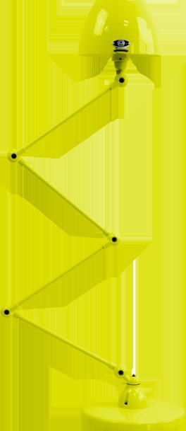 jielde-Aicler-AID433-vloerlamp-geel-RAL1016-rond