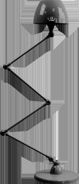 jielde-Aicler-AID433-vloerlamp-hamerslag-zwart-NOM-rond