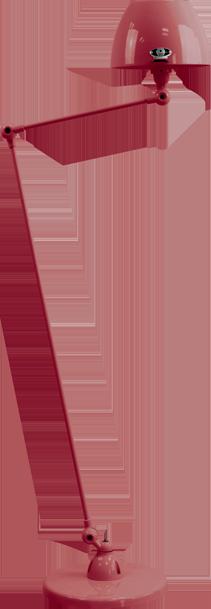 jielde-Aicler-AID833-vloerlamp-burgondisch-RAL3005-rond